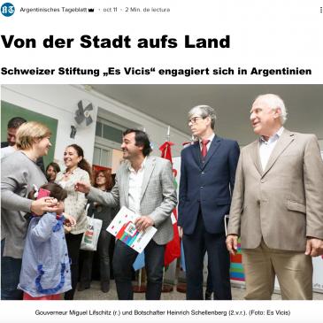 """Argentinisches Tageblatt : """"Von der Stadt aufs Land"""""""